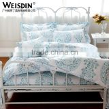 Wholesale Printing Bedding Set Custom Logo Hotel Linen Quality Bed Sheet From Guangzhou Supplier
