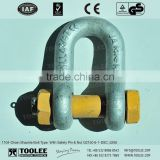 1104-Chain Shackle Bolt Type With Safety Pin & Nut G2150 6-1