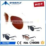 2015 new OEM fashion stainless polarized lens city vision sunglasses