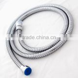 jiangmen factory supply 150 mm 304 stainless steel chrome double lock flexible shower hose