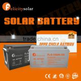Felicity Solar Top Rated solar battery charger12V 150ah solar power battery