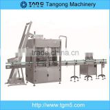 hot fill sauce in glass bottling equipment