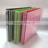 Fashion 3 ring binder for pvc lever arch file