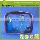 plastic zipper bag cosmetic pouch bag plastic box packaging