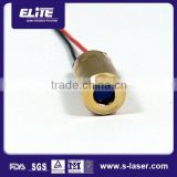 High reliability alunimium anodized/brass laser diode module,aesthetic laser diode module