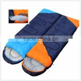2.9 pounds Blue color Right Zip Envelope Sleeping Bag Couple sleeping bag Can be spliced Warm 3 Season Easy to carry Outdoor Spo