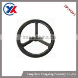 China top quality painted handwheel casting ,machine tool parts,grey iron and nodular iron cast casting,