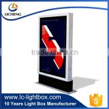 Outdoor Lighted Sign Light Box aluminum Frames LED Signboard Advertising LED Light Box