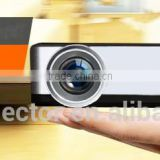 Outdoor best using mini short throw 3d dlp led short throw projector for htc one