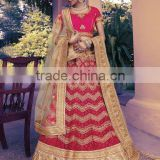 Astute Red Braso Lehenga Choli/fancy lehenga choli/Lehenga Choli Wholesaler In India