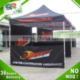 China price 10x10ft rain cover folding tent with aluminum frame