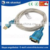 225 kbps USB 2.0 to rs232 DB9 male serial adapter cable rs232 to usb driver win7 9 pin data cable