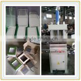 heat press embossing machine for non woven air car filter making machine