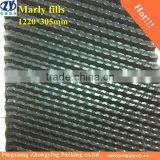 PVC Cooling tower fills, Cross-fluted Film fills(1220*305mm)