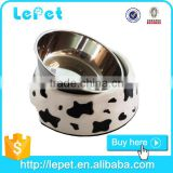 Christmas sales Melamine dog bowl dish pet bowl stainless steel