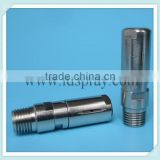 "1/4"" rotating tank cleaning wasing nozzle could be used on 18mm orifice beer bottle"
