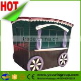 widely used China photo booth mall mobile shop potato crepe street outdoor fast food kiosk for sale