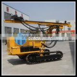 coal mining drilling rigs HF138Y Crawler type Hydraulic borehole drillling equipment with air compressor