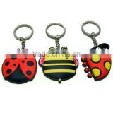 3D soft pvc key chain