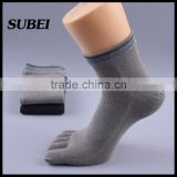 wholesale socks black toe socks men yoga socks