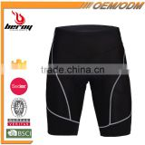 BEROY Low MOQ Cycling Underwear, Reflective Padded Bicycle Cycling Short Pant
