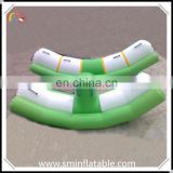 Commercial portable inflatable water seesaw, inflatable water teetertotter, adult seesaw for entertainment water game