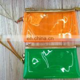 Colour clear pvc cosmetic bag for promotion