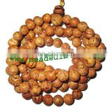 Bodhi, Budhha, Buddhism Beads Mala, Auspicious Wood Beads-Seeds String (mala), size: 11mm