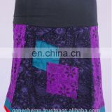 Bohemian Cotton Patchwork Mini Skirt HHCS 108 B