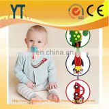 Baby Feeding Eco-Friendly Plastic Pacifier Clips, BPA free food grade silicone teething clear pacifier clip chain wholesale