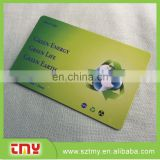 full color printing plastic card 3M self-adhesive plastic card