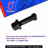 Mercedes Actross bolt 9424010371 and nut rear