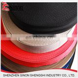 Apparel garment accessory polyester PP webbing belt strap