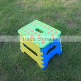 For Wal-mart hot sale easy take colourful foldable baby plastic weave chair                                                                         Quality Choice