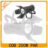 Latest 200W led theatre fresnel spotlight ; COB par can