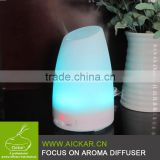 Essential Oil Diffuser Compact Ultrasonic Aromatherapy Diffuser With Ionizer and Color Changing Light