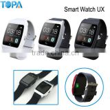 U-watch smart watch connect phone can Heart Rate Monitor smart watch /Pedometer/ sleep monitor/Security reminder
