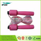 Rose Red Digital LCD Skipping/ Jump Rope w Calorie/Distance Counter
