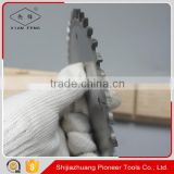 china woodworking cutting tool 7'' tungsten carbide circular saw blade conical scoring blade