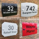 Fashion Beautiful House Sign Door Number Street Address Modern Acrylic Plaque                                                                         Quality Choice