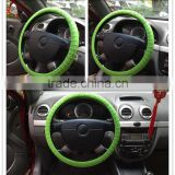 interior car accessary anti slip silicone steering wheel cover