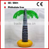 PVC big inflatable palm trees for promotion decorative trees