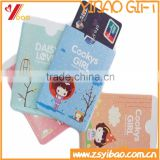 Wholesale Promotional PVC Card Holder, Customized Plastic PVC Credit Card/Bus Pass/Bank Card Holder, Lovely Girl PVC Card Holder