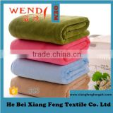 microfiber beach towel Microfiber Sanding Printing Hand Face Square Towel 6141 25*25 Wendy Brand Made in China Gaoyang Town