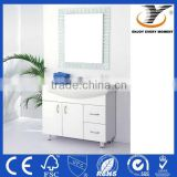 PVC Laundry Sink Cabinet White Bathroom Vanity Standing Bathroom Furniture