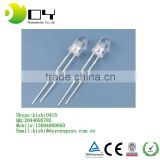 Through Hole Package Type 5mm oval straw hat Green yellow red blue rgb cree LED Diode hot product