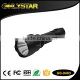 Onlystar GS-9403 best powerful aluminum led light cre r3 rechargeable battery tactical led flashlight