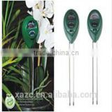 3 in 1 garden plant soil ph moisture tester light meter