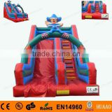 commercial floating inflatable stair slide