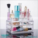 Guangzhou Wholesale 3 Drawer Acrylic Makeup Storage Containers                                                                         Quality Choice